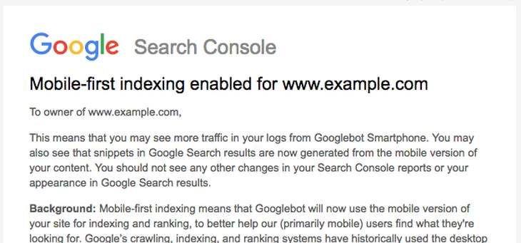 Google tuyên bố ưu tiên nội dung website trên thiết bị di động