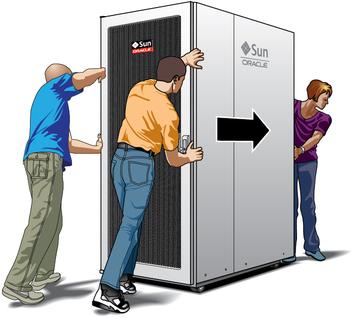 Chuyển server