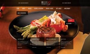 Thiết kế website nhà hàng 1