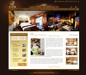 Thiet ke website nhà hàng 4