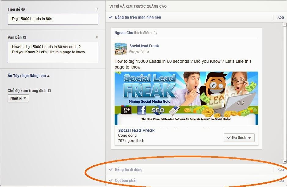 Hướng dẫn các cách quảng cáo trên facebook hiệu quả 4