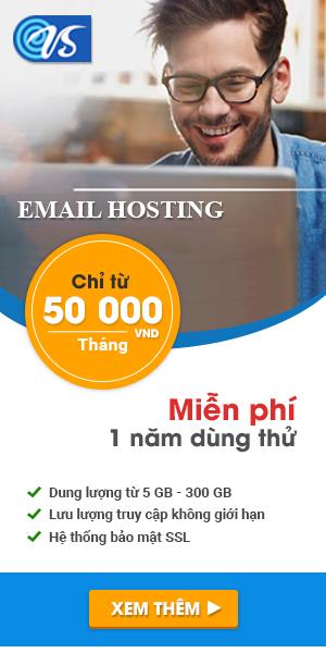 Email cá nhân miễn phí theo tên miền riêng